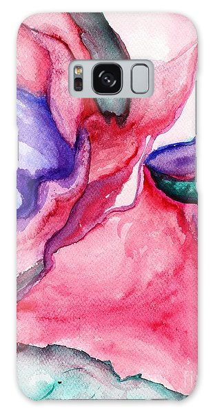 Rose Wave Galaxy Case by Vonda Lawson-Rosa