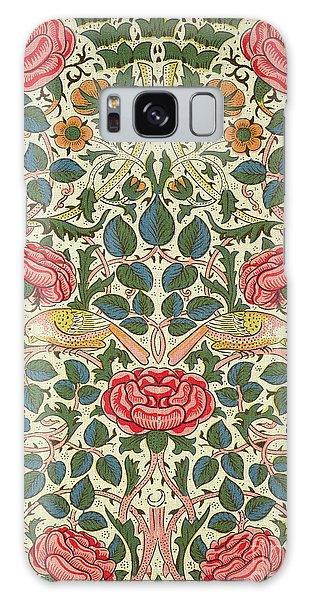 Tapestry Galaxy Case - Rose by William Morris