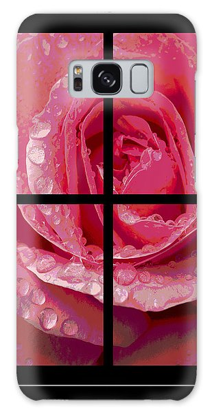 Rose Window Galaxy Case