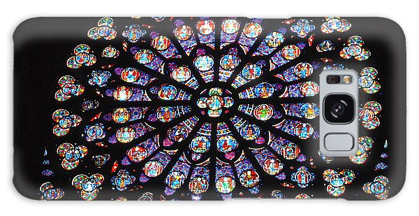 Rose Window Of Notre Dame Paris Galaxy Case