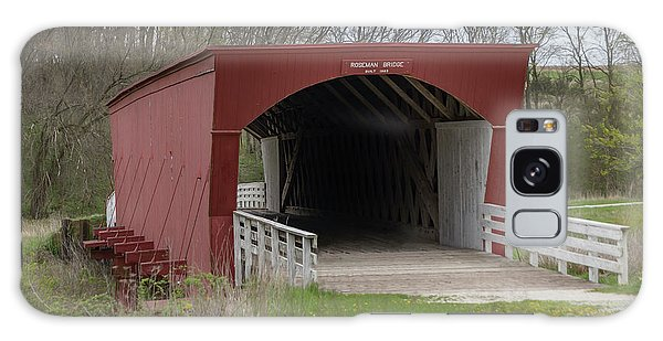 Roseman Covered Bridge - Madison County - Iowa Galaxy Case