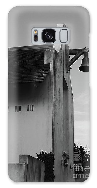 Galaxy Case - Rosemary Beach Post Office In Black And White by Megan Cohen