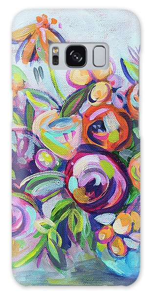Bright Galaxy Case - Roses And Kumquats by Kristin Whitney