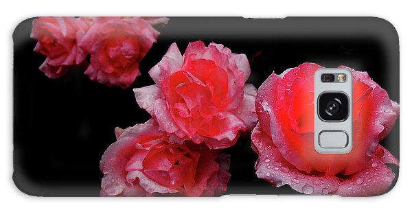 Roses And Rain Galaxy Case