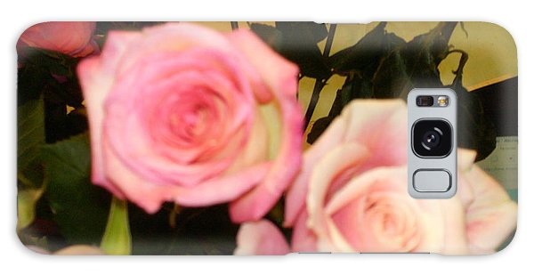 Galaxy Case - Roses by Anne Zimmerman