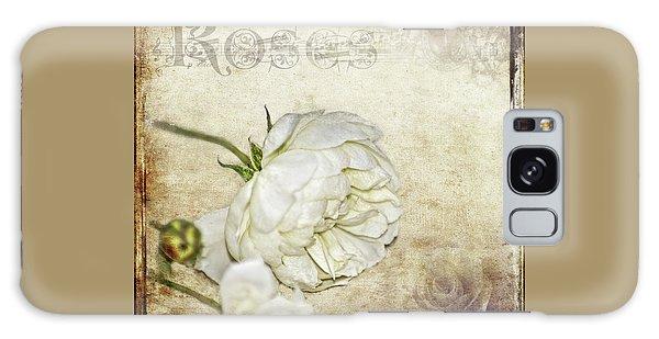 Roses Galaxy Case by Carolyn Marshall