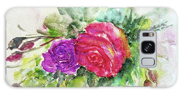Roses For You Galaxy Case by Jasna Dragun