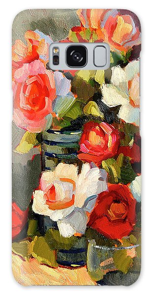 Roses From My Garden Galaxy Case
