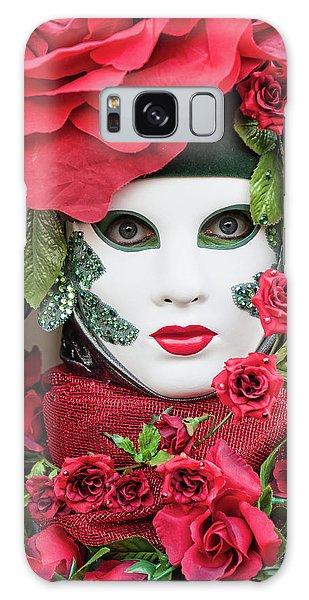 Roses II Galaxy Case by Stefan Nielsen
