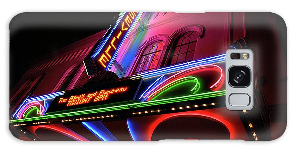 Roseville Theater Neon Sign Galaxy Case