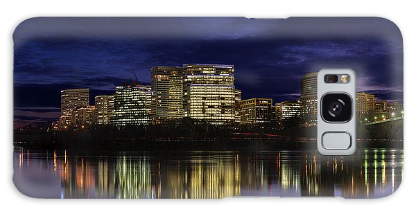 Rosslyn Skyline Galaxy Case
