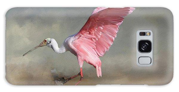 Ibis Galaxy Case - Rosy by Donna Kennedy