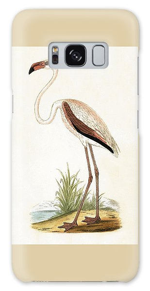 Rosy Flamingo Galaxy Case by English School