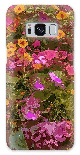 Rosy Garden Galaxy Case by Josy Cue