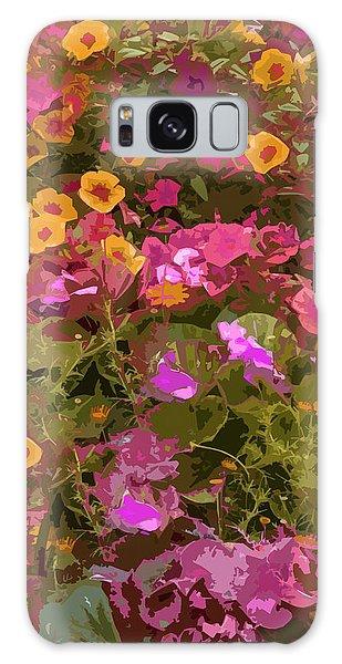 Rosy Garden Galaxy Case