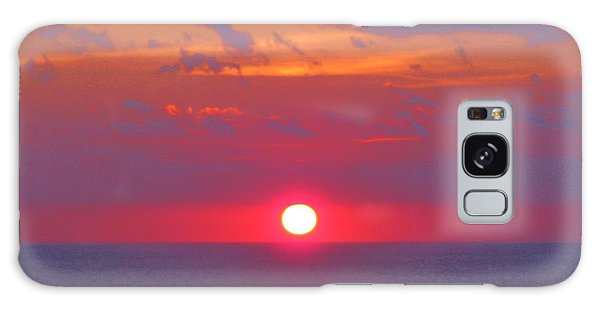 Rosy Sunrise Galaxy Case