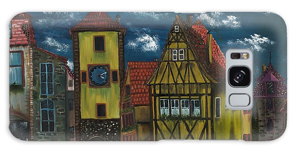 Rothenburg Ob Der Tauber Galaxy Case