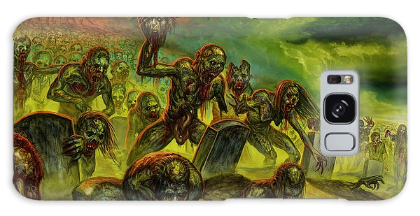 Rotten Souls Taint The Land Galaxy Case by Tony Koehl