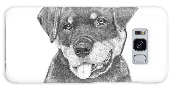 Rottweiler Puppy- Chloe Galaxy Case