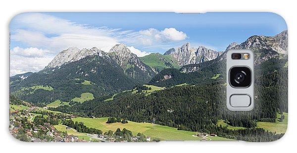 Rougemont Village In Switzerland Galaxy Case