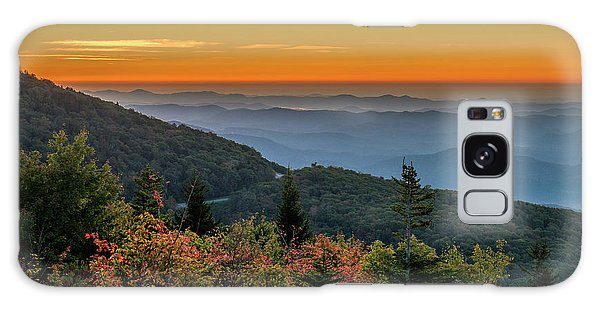 Rough Morning - Blue Ridge Parkway Sunrise Galaxy Case