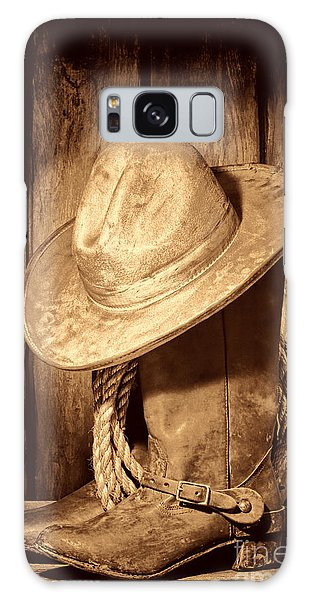 Rough Rider Galaxy Case by American West Legend By Olivier Le Queinec