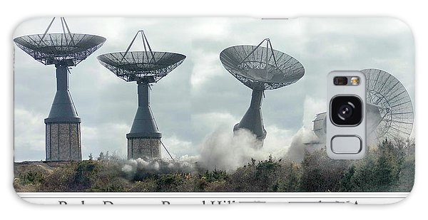 Round Hill Radar Demolition Galaxy Case
