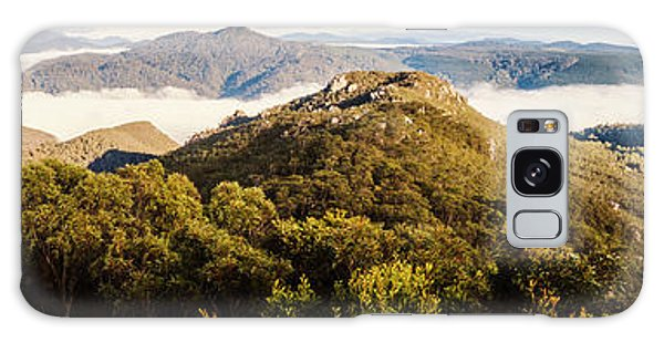 Round Galaxy Case - Round Mountain Lookout by Jorgo Photography - Wall Art Gallery