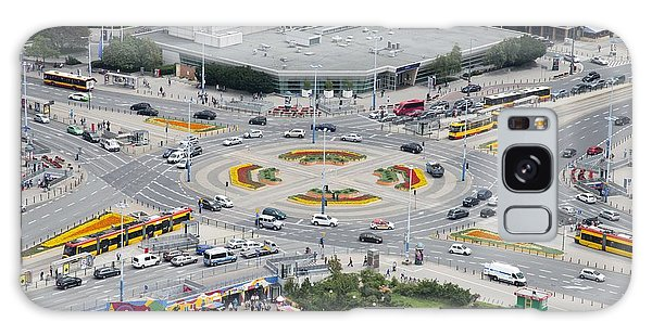 Roundabout In Warsaw Galaxy Case by Chevy Fleet