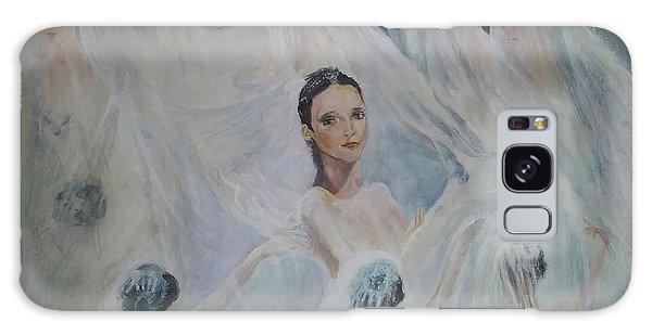 Roundelay. Ballet Dancers Galaxy Case