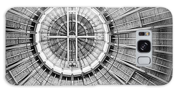 Roundhouse Architecture - Black And White Galaxy Case