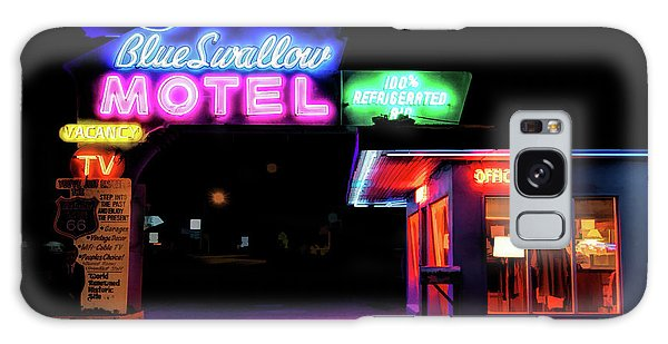 66 Galaxy Case - Route 66 Blue Swallow Motel by Christopher Arndt