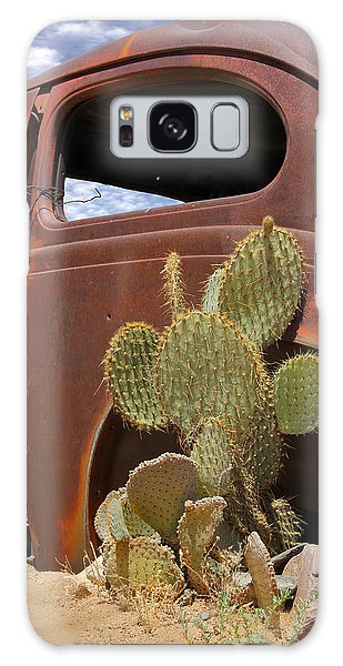 66 Galaxy Case - Route 66 Cactus by Mike McGlothlen