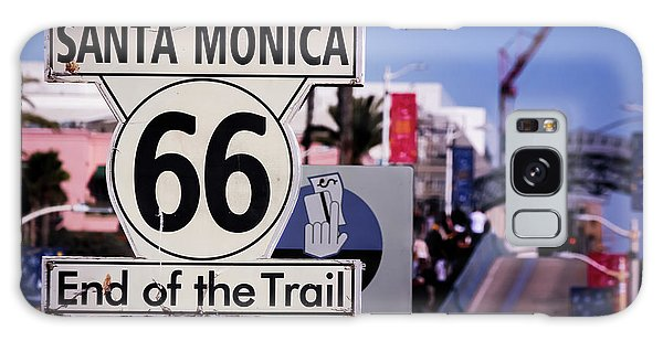 Route 66 End Of Trail Galaxy Case