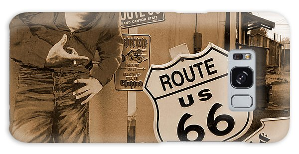 66 Galaxy Case - Route 66 - Signs by Mike McGlothlen