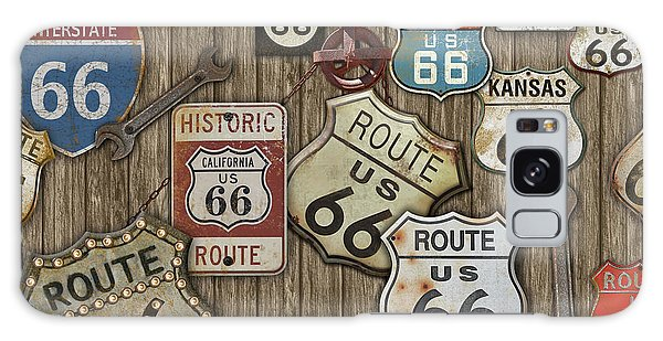 66 Galaxy Case - Route 66-jp3956 by Jean Plout