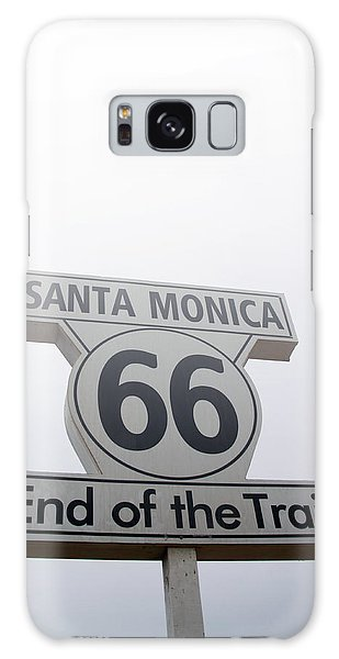 Santa Monica Galaxy S8 Case - Route 66 Santa Monica- By Linda Woods by Linda Woods