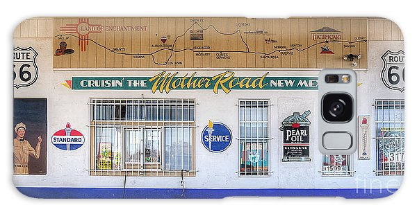 66 Galaxy Case - Route 66 Service Station by Twenty Two North Photography