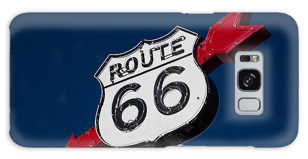 Route 66 Sign Galaxy Case