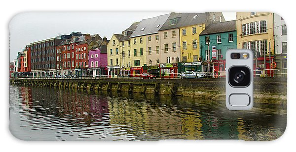 Row Homes On The River Lee, Cork, Ireland Galaxy Case