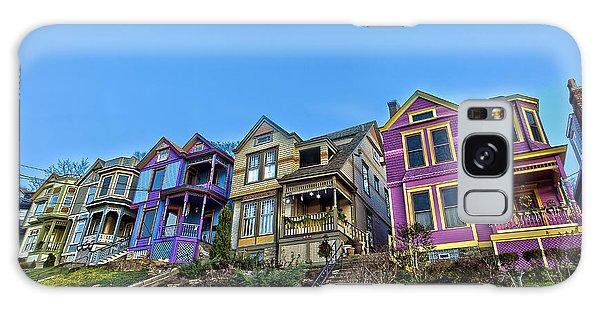 Row Houses Galaxy Case