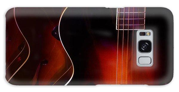 Row Of Guitars Galaxy Case