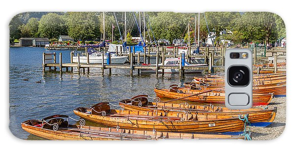 Galaxy Case - Rowing Boats In Ambleside On Lake Windermere by Iordanis Pallikaras
