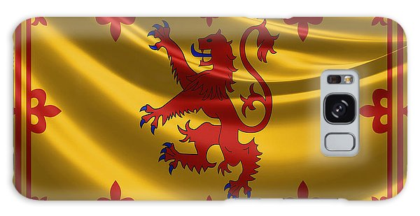 Royal Banner Of The Royal Arms Of Scotland Galaxy Case