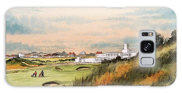 Royal Birkdale Golf Course 18th Hole Galaxy Case by Bill Holkham
