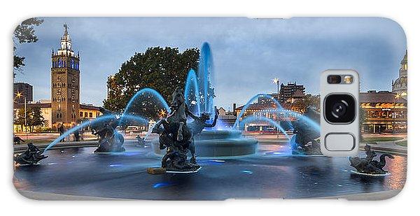 Royal Blue Fountain Galaxy Case