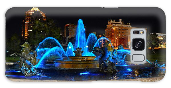 Royal Blue J. C. Nichols Fountain  Galaxy Case