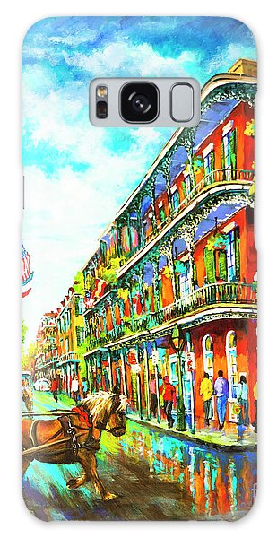Royal Carriage - New Orleans French Quarter Galaxy Case