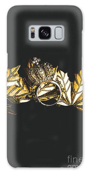 Metal Leaf Galaxy Case - Royal Crown Jewels by Jorgo Photography - Wall Art Gallery