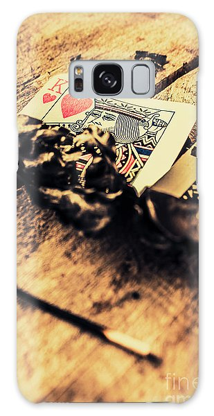 Gamble Galaxy Case - Royal Flush by Jorgo Photography - Wall Art Gallery